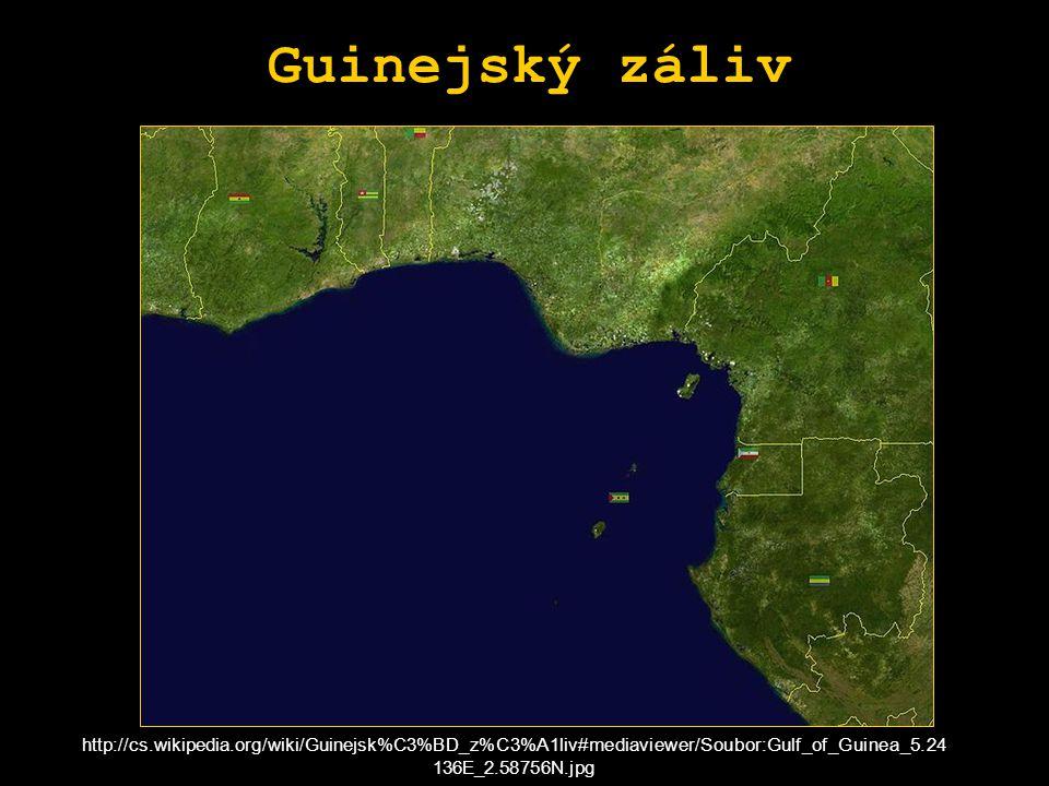 Guinejský záliv http://cs.wikipedia.org/wiki/Guinejsk%C3%BD_z%C3%A1liv#mediaviewer/Soubor:Gulf_of_Guinea_5.24 136E_2.58756N.jpg