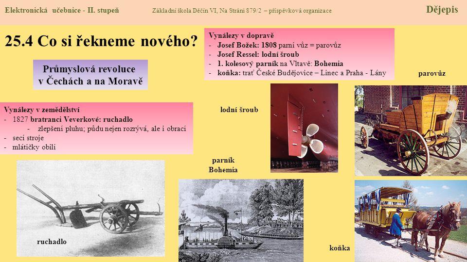 25.5 Procvičení a příklady Utvářejí se nové společenské vědy – archeologie a antropologie.