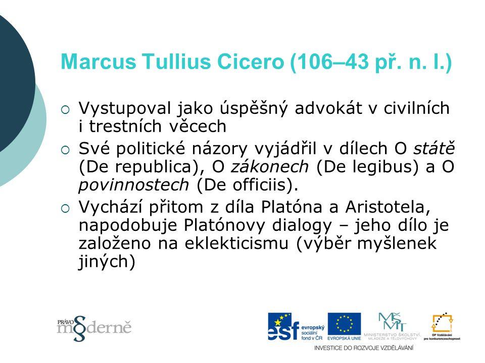 Marcus Tullius Cicero (106–43 př. n.