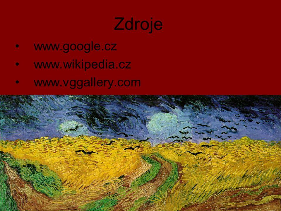 Zdroje www.google.cz www.wikipedia.cz www.vggallery.com