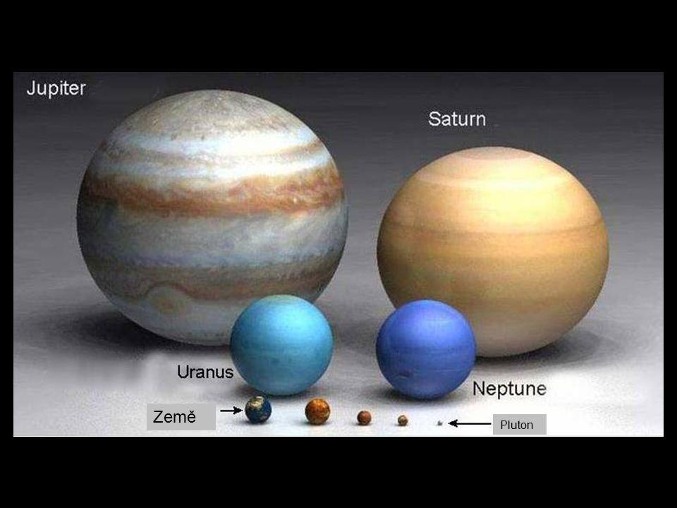 Země Pluton Mars Merkur