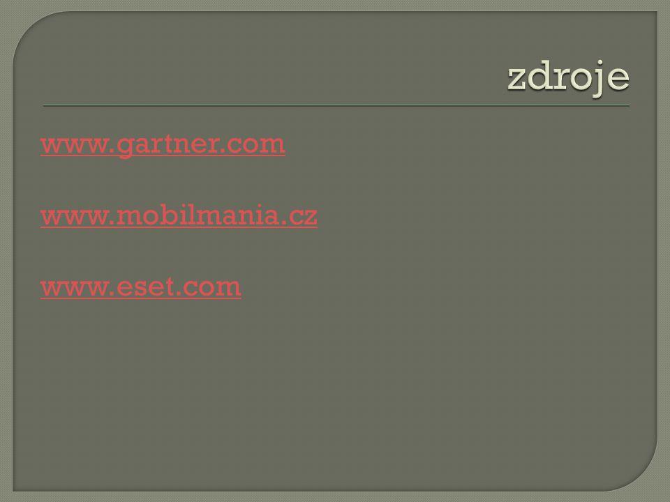 www.gartner.com www.mobilmania.cz www.eset.com