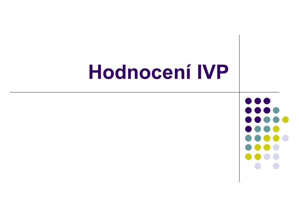 Hodnocení IVP