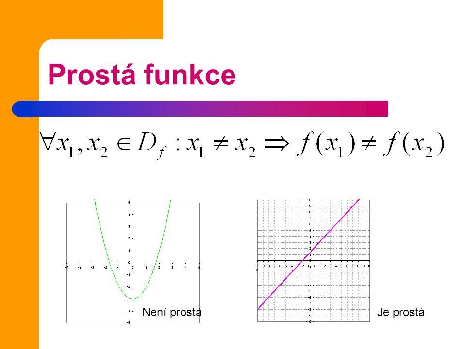 Příklad 1 Urči definiční obor funkcí: Řešíme rovnici pro podmínku existence daného výrazu.