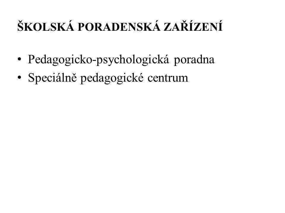 PEDAGOGICKO-PSYCHOLOGICKÁ PORADNA Co poskytuje Činnost poradny Obsah služby pedagogicko-psychologické poradny