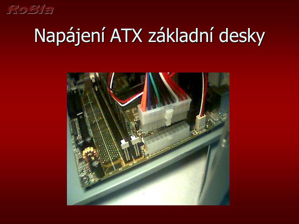 Napájení ATX základní desky