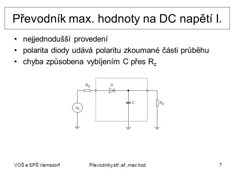 VOŠ a SPŠ VarnsdorfPřevodníky stř.,ef.,max.hod.7 Převodník max.