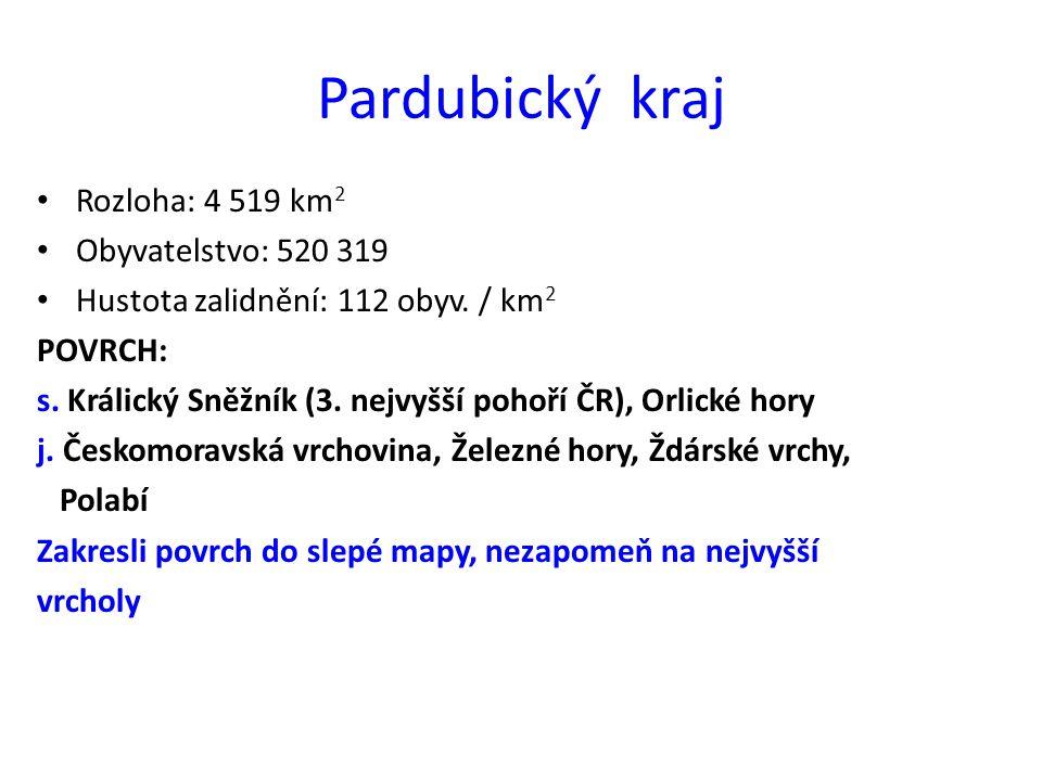 Ukaž na mapě sousední kraje Středočeský Královéhradecký Olomoucký Jihomoravský Vysočina Polsko