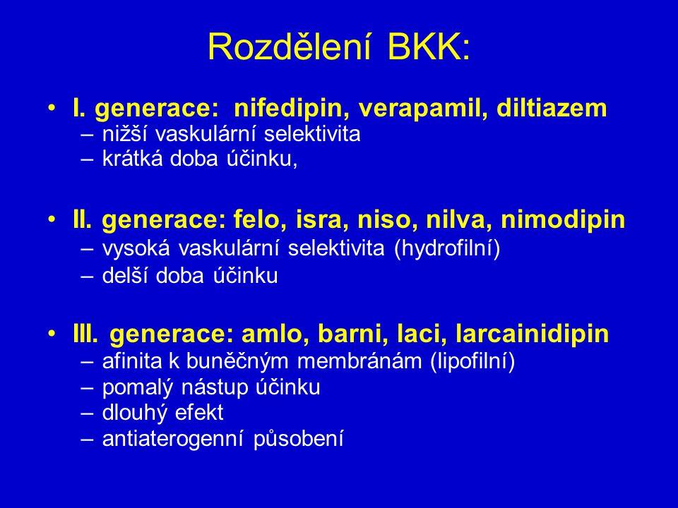 Rozdělení BKK: I.