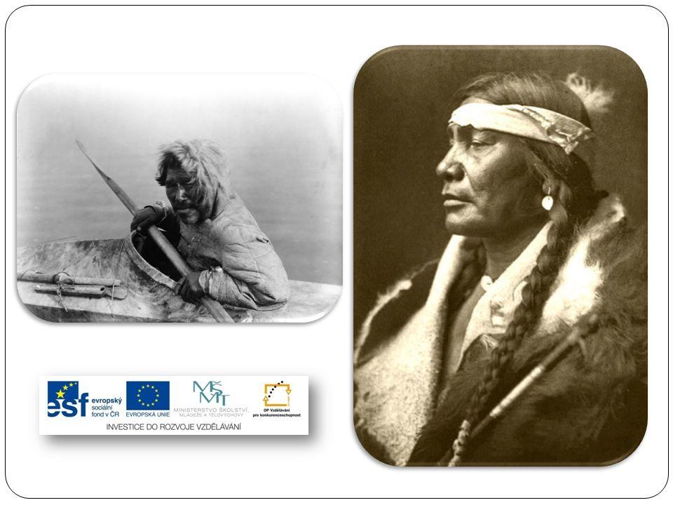 Indiáni (Amerindové) hovořili stovkami jazyků, byli rozděleni do přibližně 120 jazykových skupin.