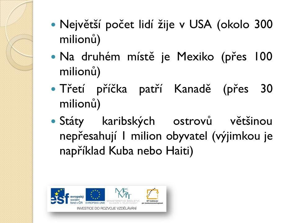 Odpovědi na úkoly II: Jaké jsou v Severní Americe nejpoužívan ě jší jazyky.