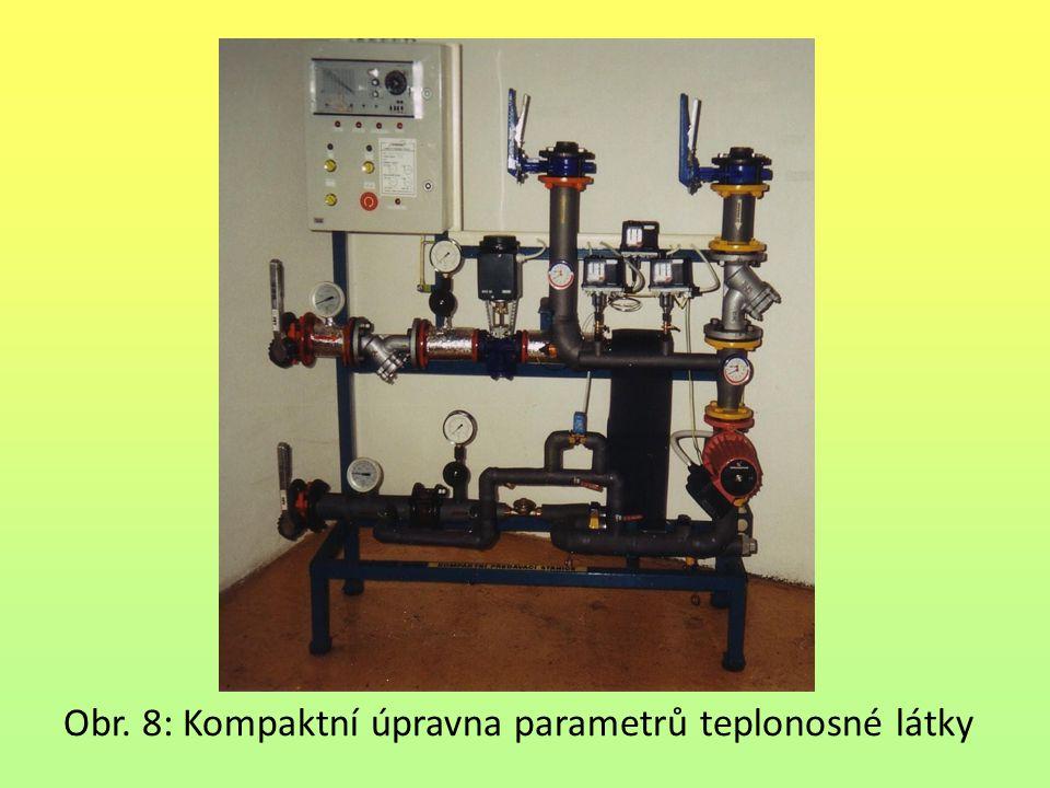 Obr. 8: Kompaktní úpravna parametrů teplonosné látky