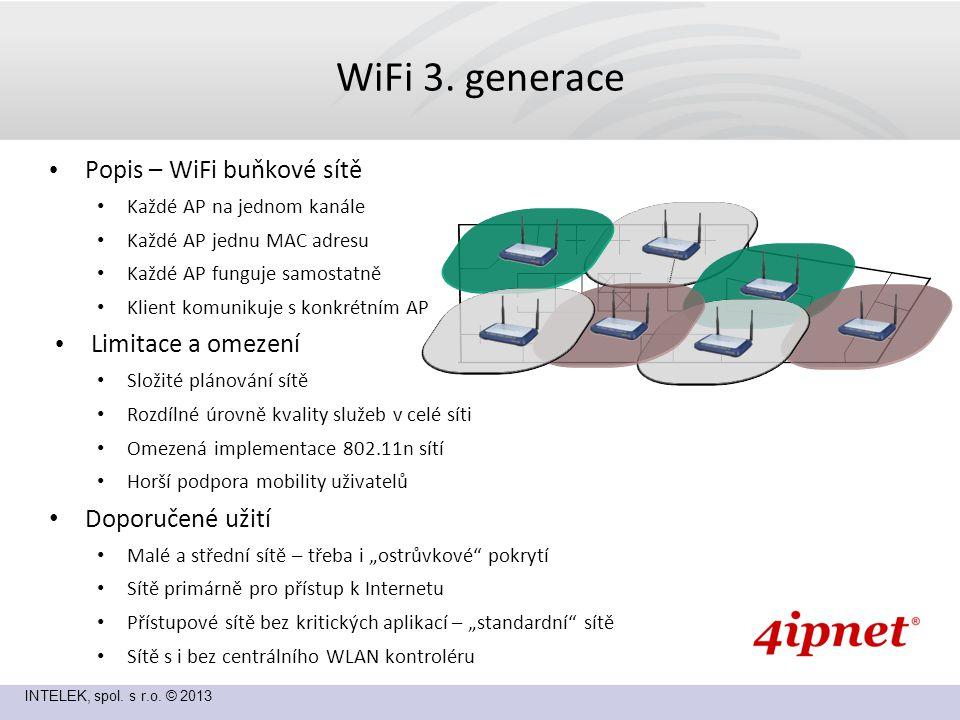 INTELEK, spol.s r.o. © 2013 WiFi 4.