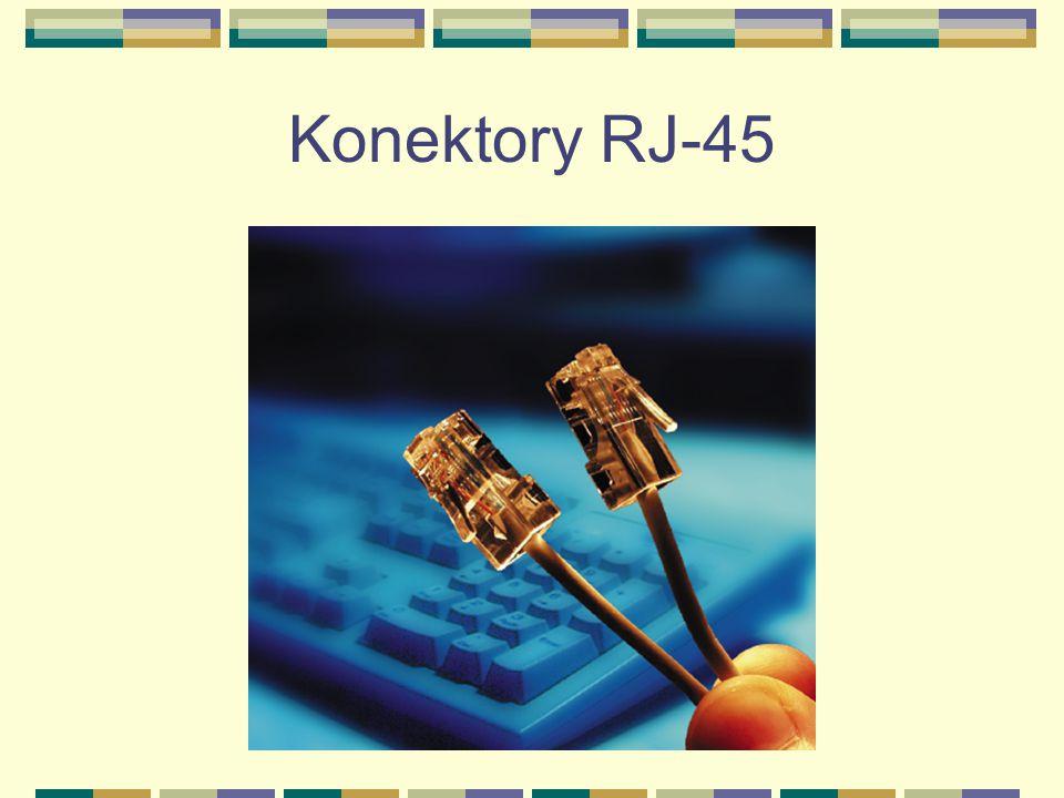 Konektory RJ-45