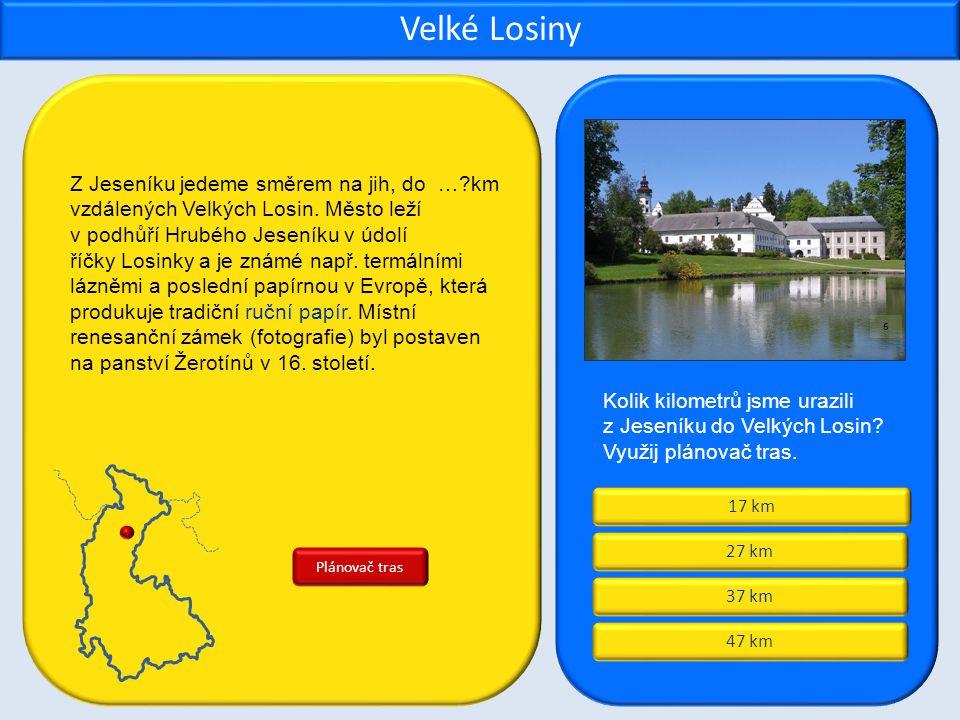 Centrum Jeseníků Brána Jeseníků Dveře Jeseníků Křižovatka Jeseníků Šumperk Jak je nazýván Šumperk.