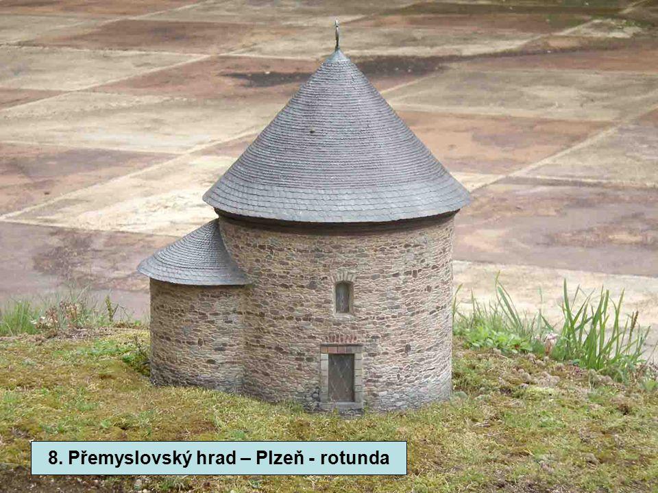 8. Přemyslovský hrad - Plzeň