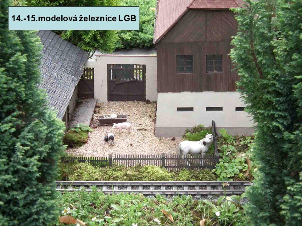 14.-15.modelová železnice LGB