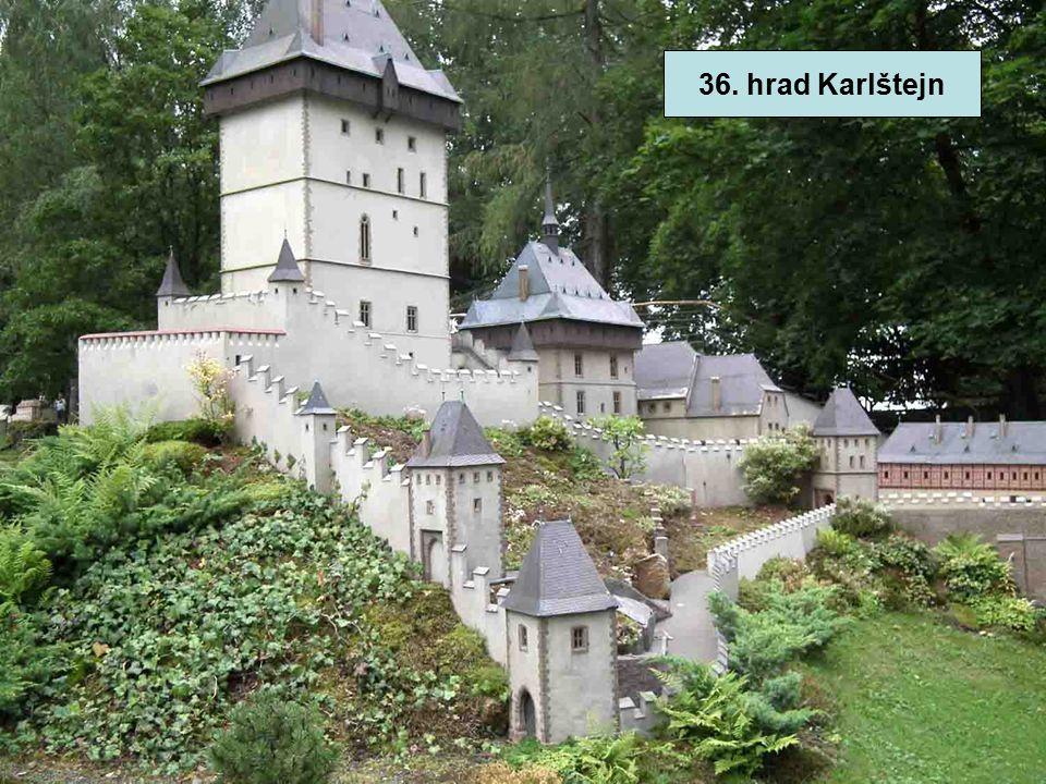 36. hrad Karlštejn