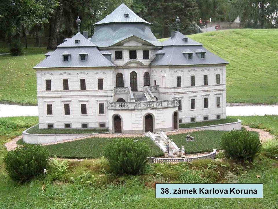 38. zámek Karlova Koruna