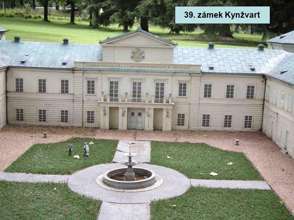 39. zámek Kynžvart