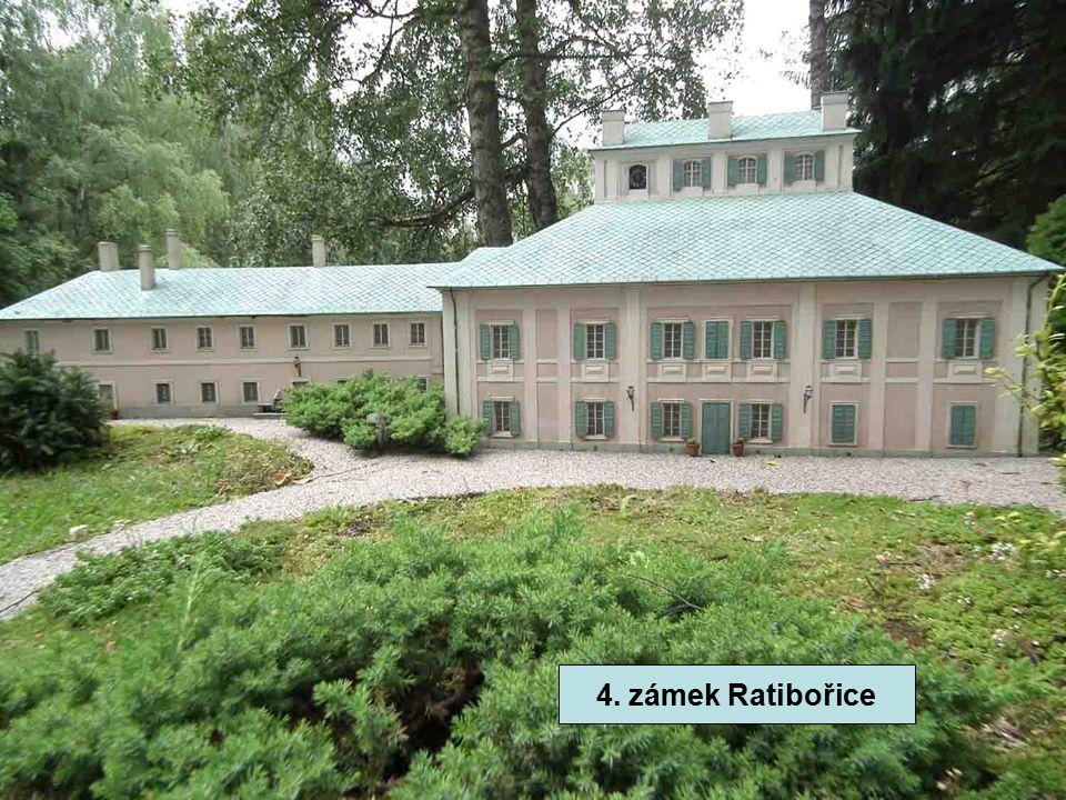 4. zámek Ratibořice