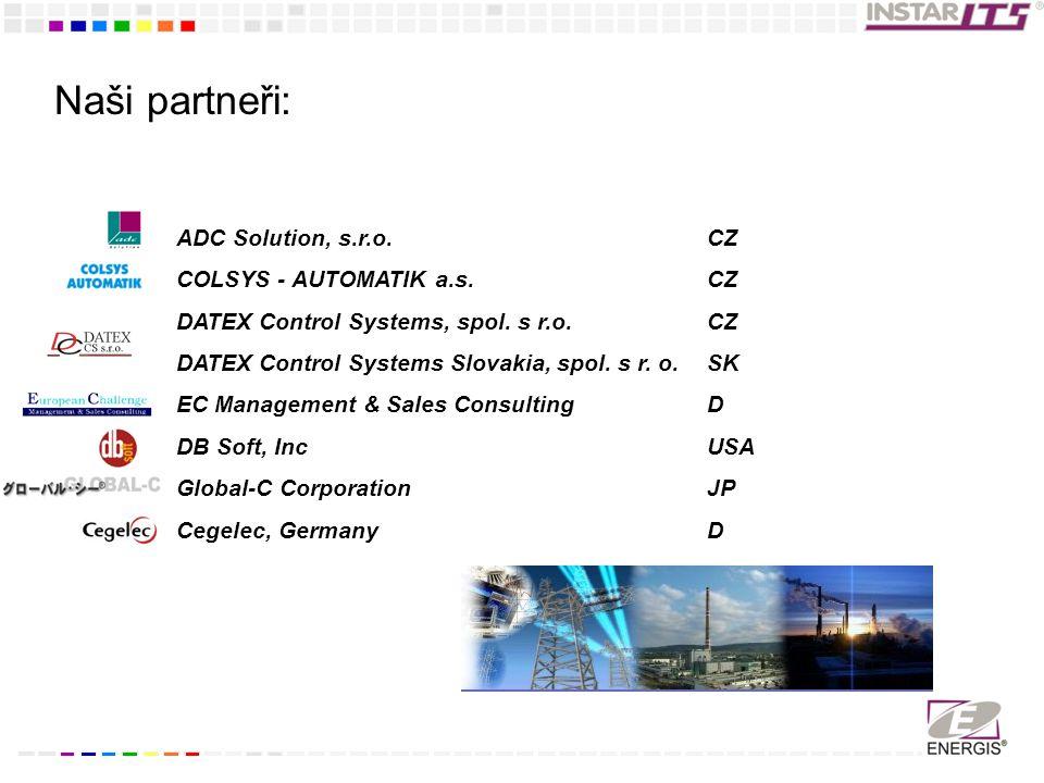 Naši partneři: ADC Solution, s.r.o.COLSYS - AUTOMATIK a.s.