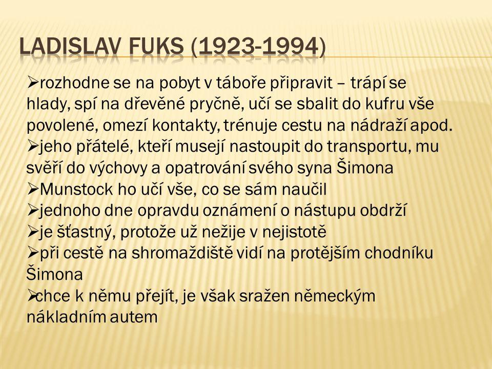  další slavnou knihou je román – psychologický horor Spalovač mrtvol (1967)  zfilmována Jurajem Herzem pod stejným názvem (v roce 1968) – z filmu se brzy po okupaci ve stejném roce stal trezorový film  příběh se odehrává během 2.