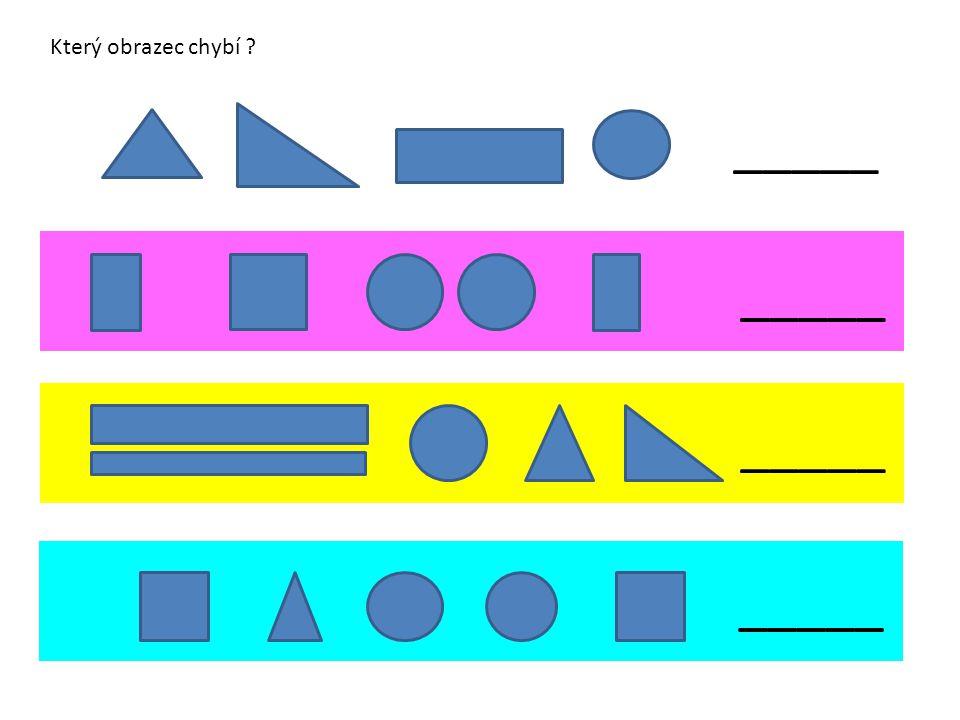 _____ Který obrazec chybí ?