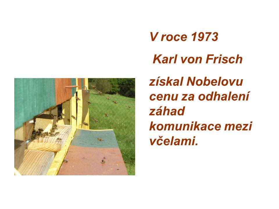 V roce 1973 Karl von Frisch získal Nobelovu cenu za odhalení záhad komunikace mezi včelami.