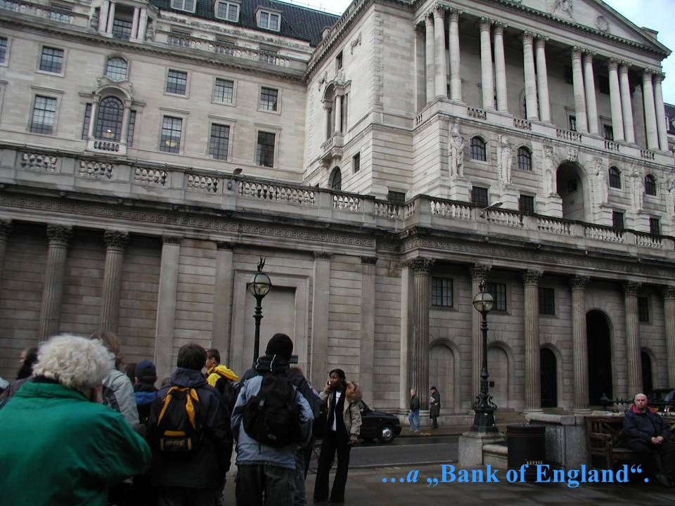 "…a ""Bank of England ."