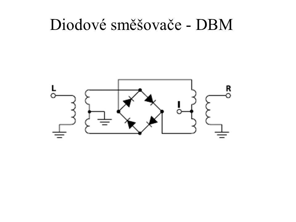 Diodové směšovače - DBM