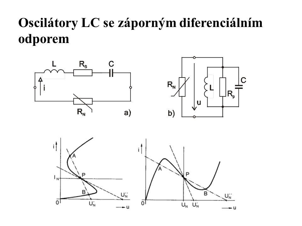 Oscilátory LC se záporným diferenciálním odporem