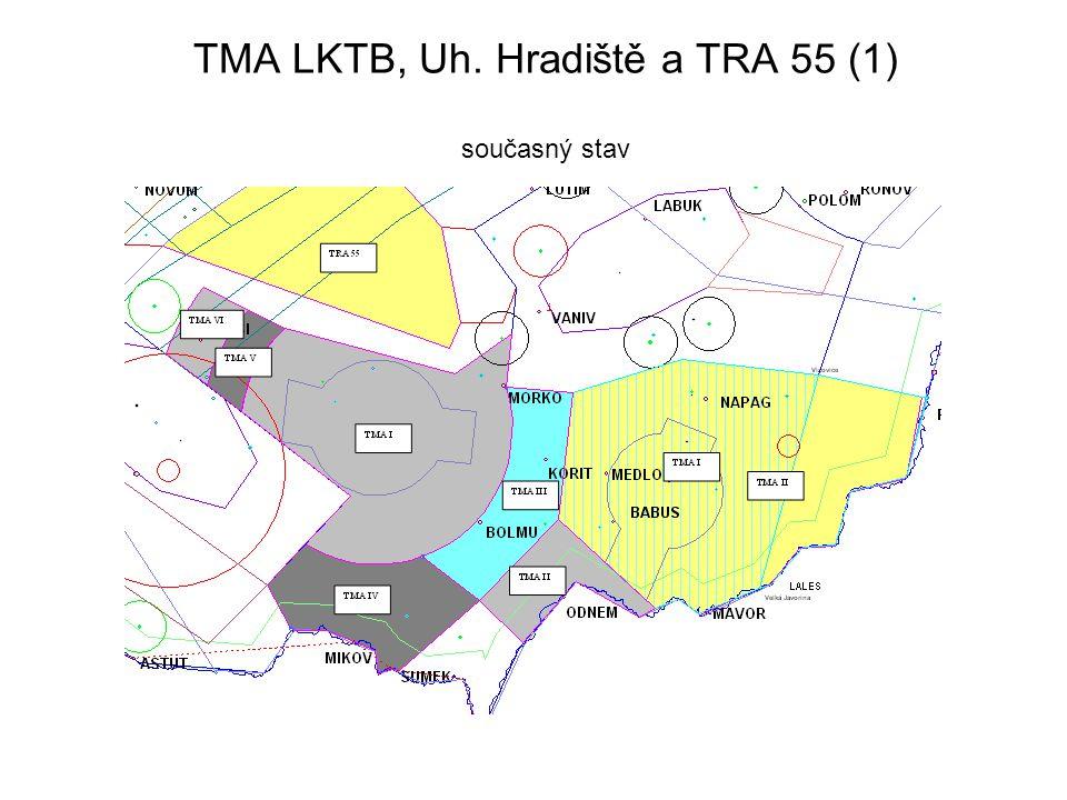 TMA LKTB, Uh. Hradiště a TRA 55 (1) současný stav