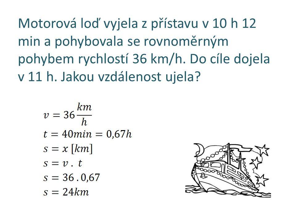 Kůň na závodní dráze běžel rychlostí 8,5 m/s po dobu 15 min. Jakou vzdálenost přibližně uběhl?