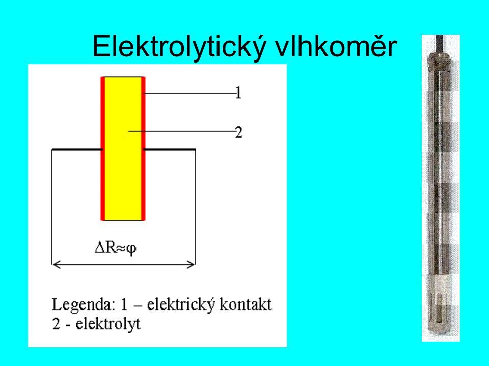 Elektrolytický vlhkoměr