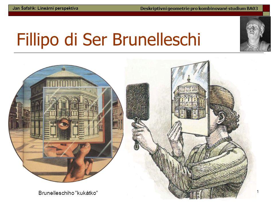 11 Fillipo di Ser Brunelleschi Brunelleschiho
