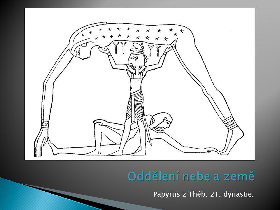 Papyrus z Théb, 21. dynastie.