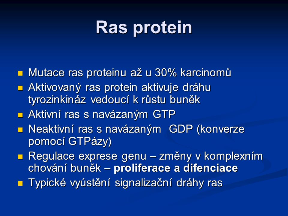 Antiproliferační geny Kódují proteiny, které se uplatňují jako brzdy zastavující buněčný cyklus v jeho kontrolních bodech Kódují proteiny, které se uplatňují jako brzdy zastavující buněčný cyklus v jeho kontrolních bodech Zabraňují abnormální proliferaci a přenosu poškozené genetické informace Zabraňují abnormální proliferaci a přenosu poškozené genetické informace Označované jako tumor-supresorové geny Označované jako tumor-supresorové geny Nádorové supresory mají recesivní charakter – nutný defekt obou alel Nádorové supresory mají recesivní charakter – nutný defekt obou alel