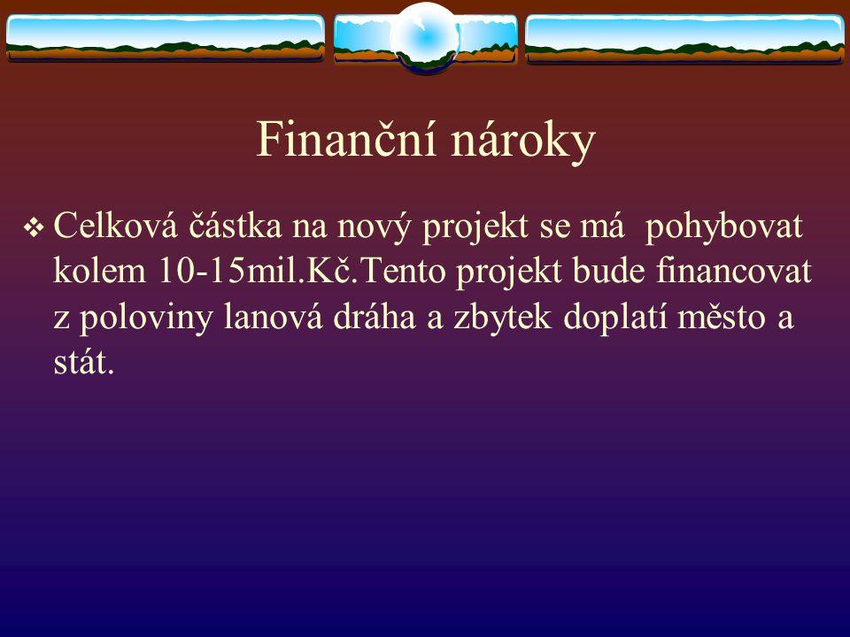 Informace o projektu Nový projekt lanové dráhy Lelekovice pojednává o přestavbě komplet celé lanové dráhy.