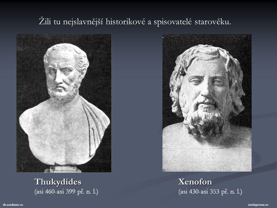 """Žili tu nejslavnější filozofové starověku. historik.webgarden.cz Sókratés (469-399 př. n. l.) """"Vím, že nic nevím"""" Platón (427-347 př. n. l.) alexander"""