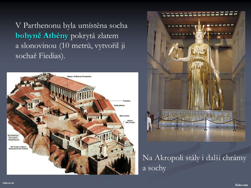 hellenica.de Akropole Opevněná Akropole nad Athénami godsgeography.com Mramorový chrám bohyně AthényParthenon