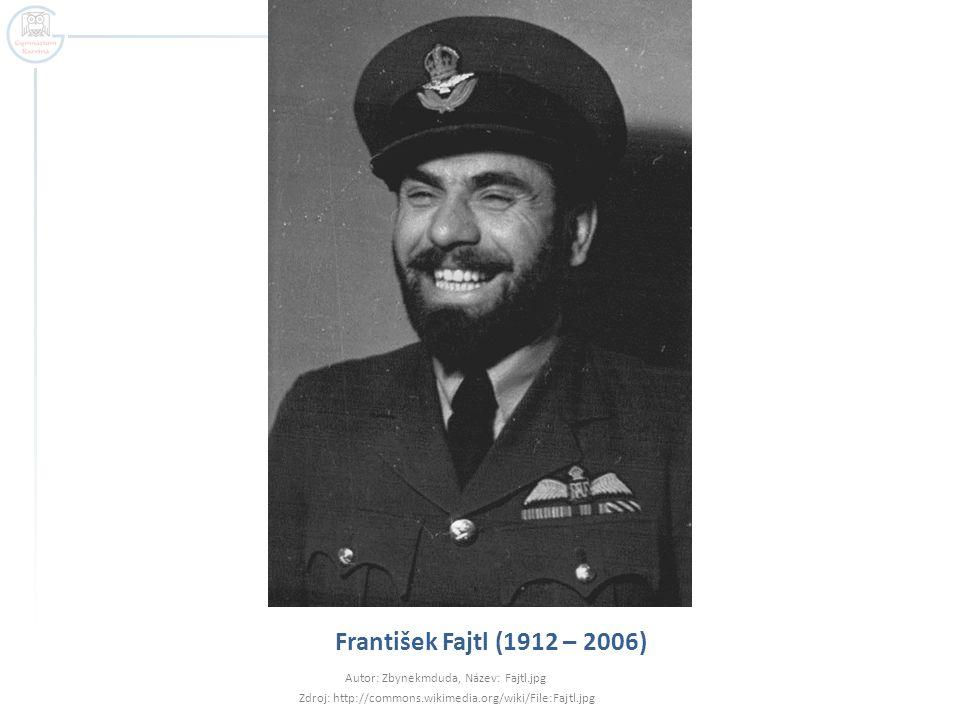 František Fajtl (1912 – 2006) Autor: Zbynekmduda, Název: Fajtl.jpg Zdroj: http://commons.wikimedia.org/wiki/File:Fajtl.jpg