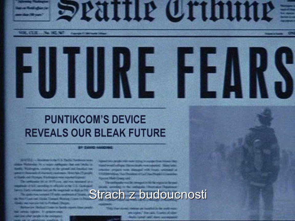 Strach z budoucnosti