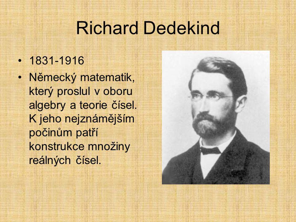 Jordanova-Dedekindova podmínka Uspořádaná množina splňuje Jordanovu- Dedekindovu podmínku, mají-li všechny konečné maximální řetězce spojující kteréko