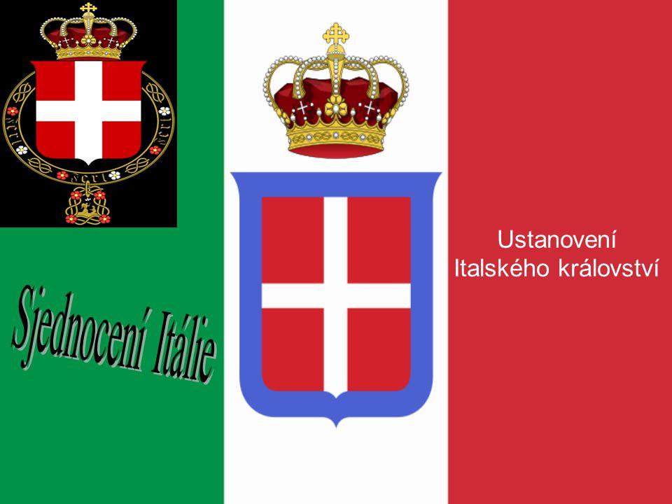 Ustanovení Italského království