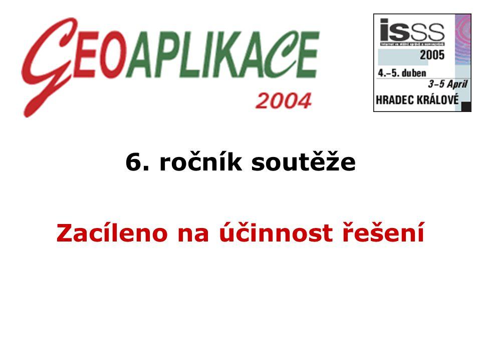 6. ročník soutěže Zacíleno na účinnost řešení
