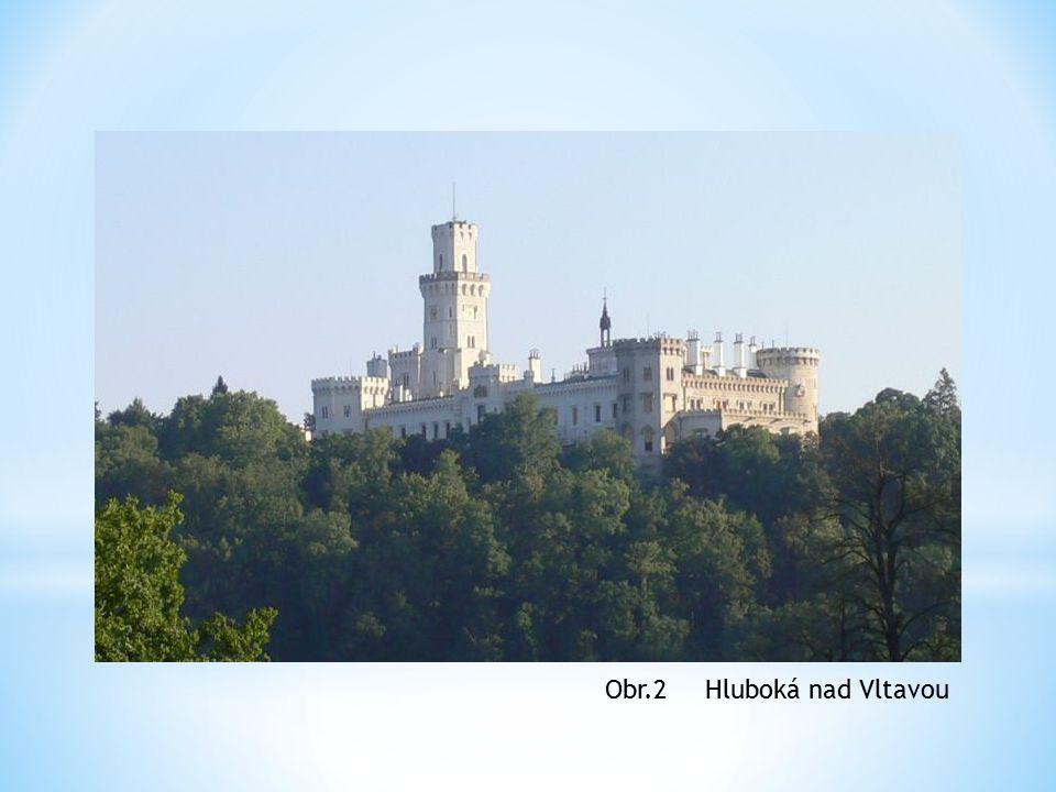 Hluboká nad VltavouObr.2
