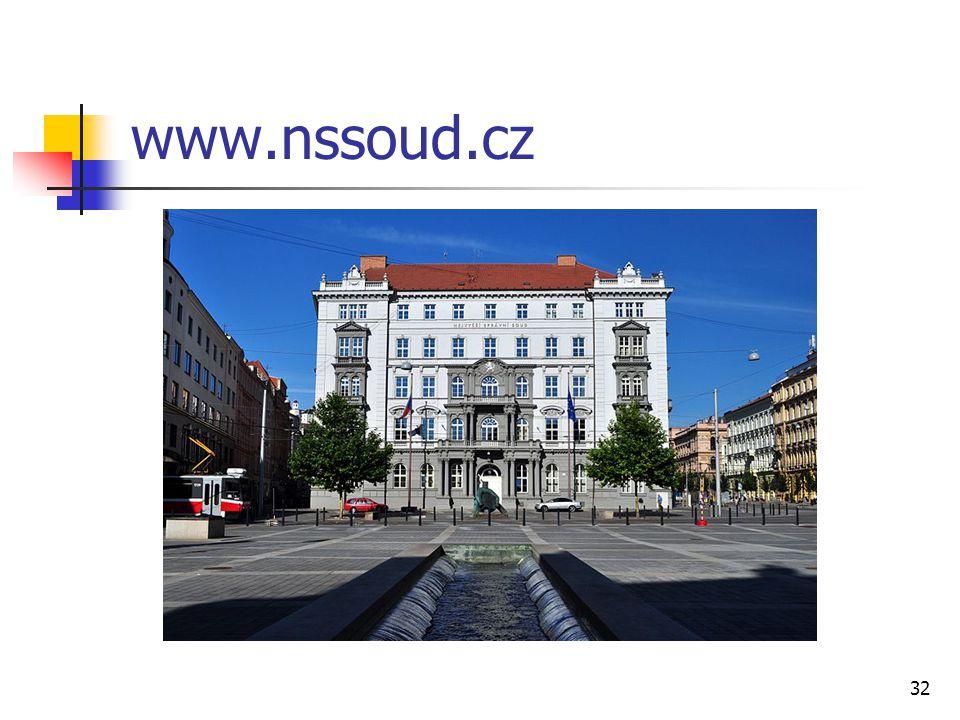 www.nssoud.cz 32