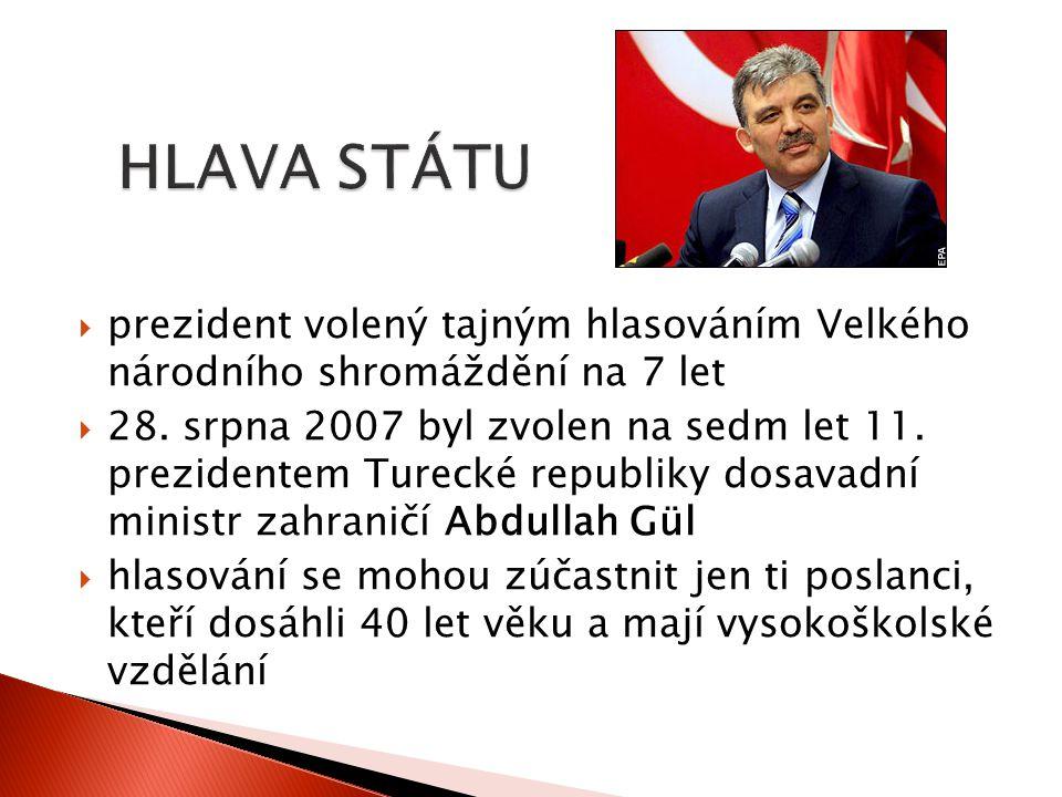  Ve své řeči při otevření parlamentu na začátku října 2012 se Gül přihlásil k principům sekularismu, demokracie, právního státu a sociální spravedlnosti a zdůraznil význam zachování těchto principů v zemi  vstup Turecka do EU označil za imperativ
