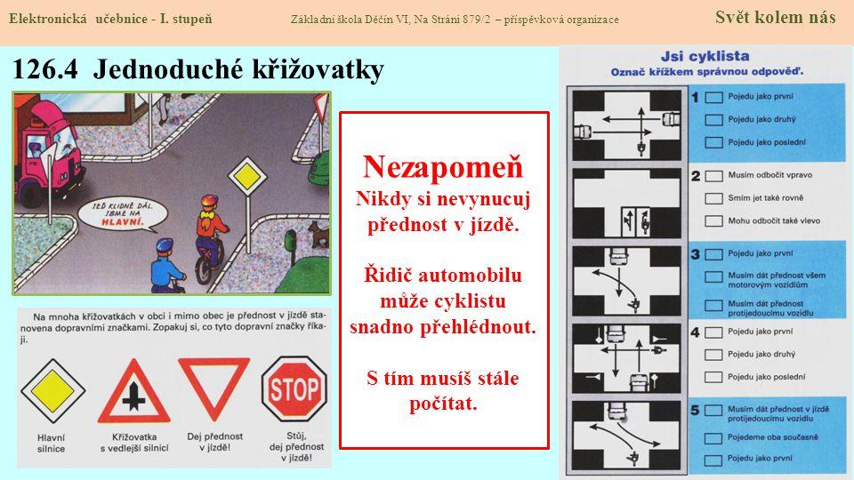 126.5 Procvičení a příklady Elektronická učebnice - I.